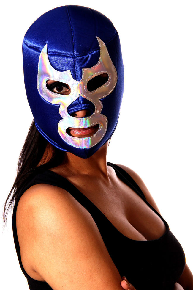 Beautiful Beauty Blue Demon Blue Demon Tribute Casual Clothing Close-up Lady Latin Latina Leisure Activity Lifestyles Mexico Mexico City Popular Portrait Portrait Of A Woman The Portraitist - 2016 EyeEm Awards Tradition Traditional Culture Tribute Woman