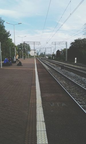 Gdansk Train Station Cityscapes Lines