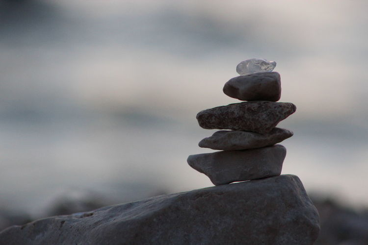 Awesome Balance Beach Built Structure Chill Stones Close-up Day Focus On Foreground Game Gift Glass - Material Handmade Nature No People Outdoors Rock - Object Strength Tower Water Relax Stone Sunset Sea Sommergefühle