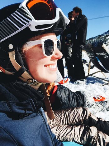 Sunglasses Leisure Activity One Person Headshot Warm Clothing Childhood Smiling Real People Day Portrait Child People Pilot Outdoors Young Adult Adult Close-up VSCO Skiing Snow