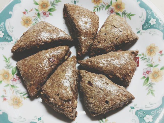 Funwithbaking Scone Cranberries Chiaseeds
