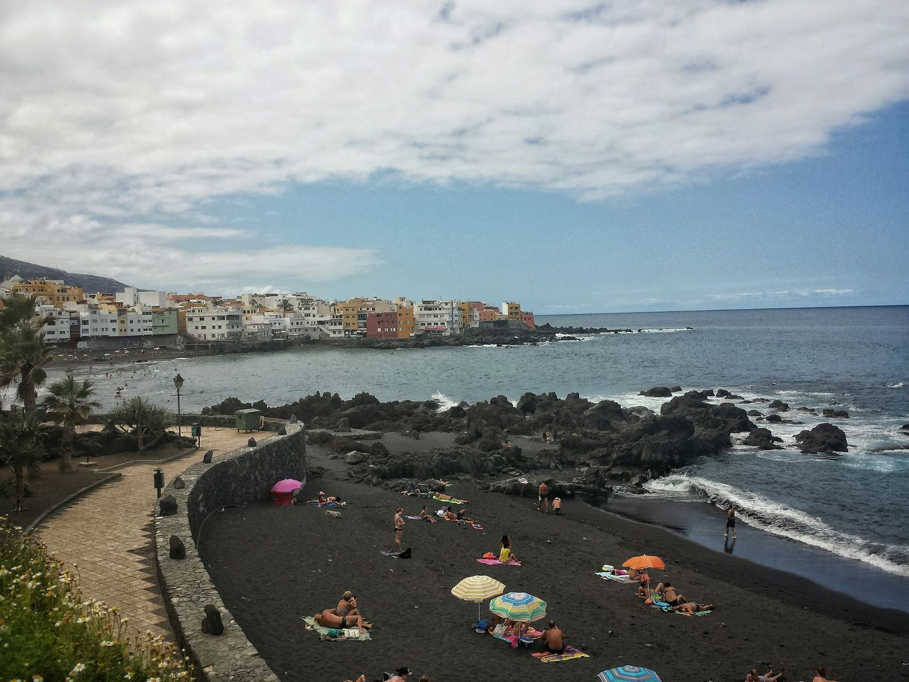 Playa Jardin Puerto De La Cruz Tenrife Teneriffa Life Is A Beach Beachtime Summer Enjoying Life Ein Tag Am Meer