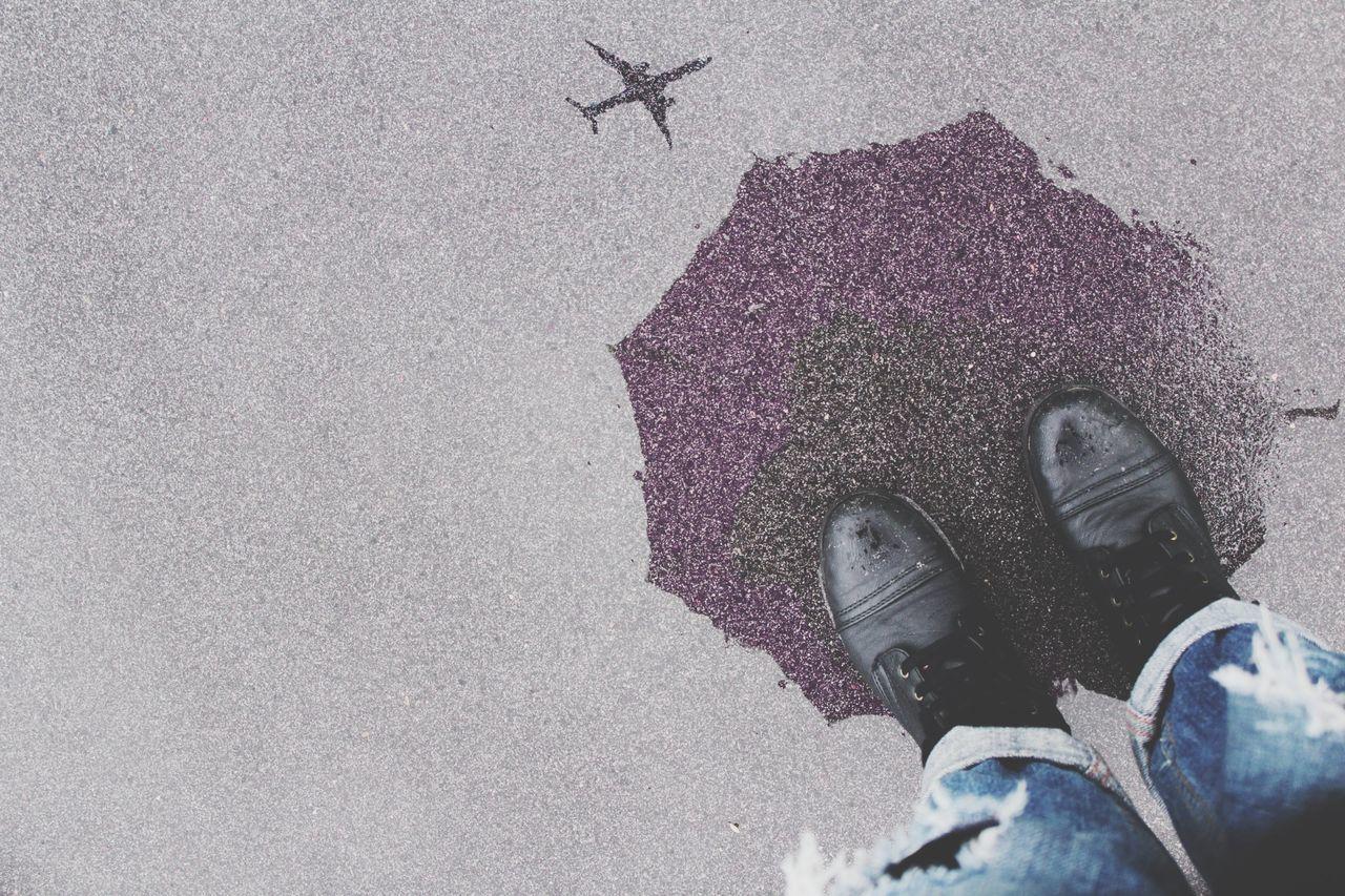 Beautiful stock photos of rain, Air Vehicle, Day, Footwear, Leisure Activity