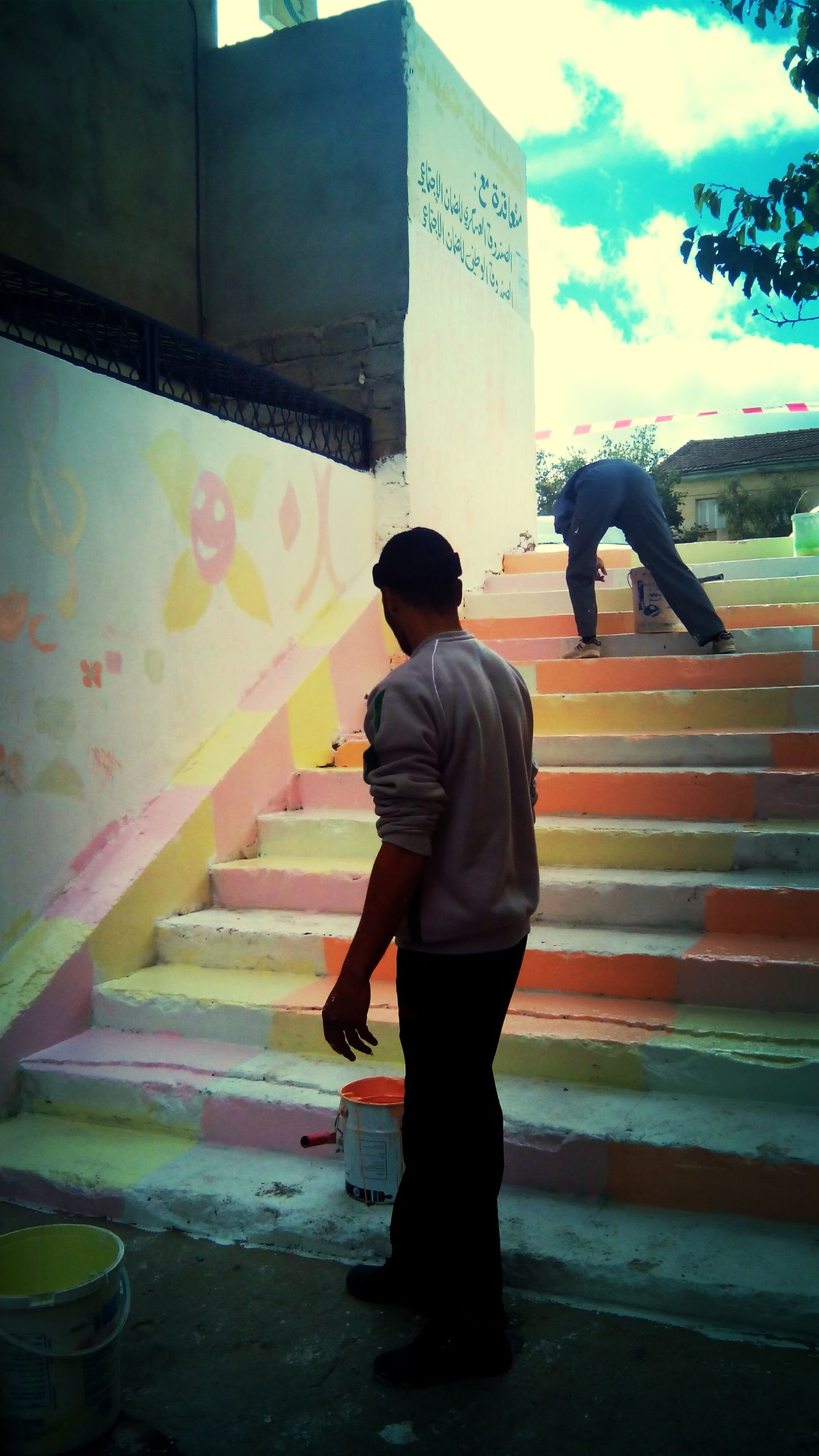 painting day :) Enjoying Life