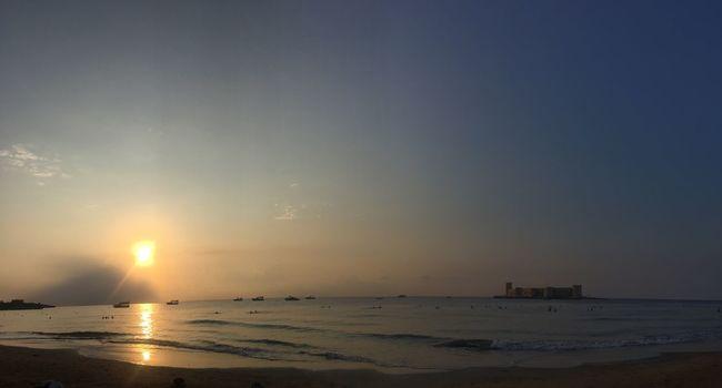 Morning Light Sunlight Sunshine Akdeniz Sea Beach Castle Turkey Sunset Seascape EyeEm Best Edits