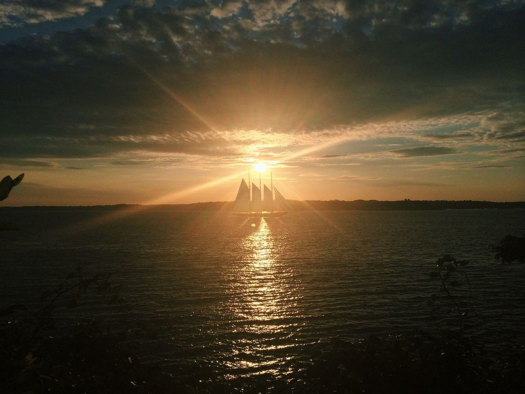 The Moment - 2014 EyeEm Awards Sail Away, Sail Away Sunset Ocean