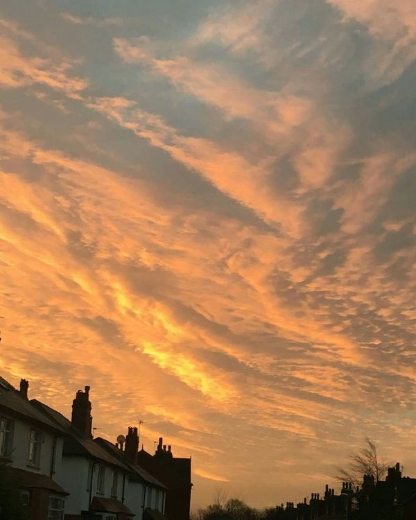 No Filters Or Effects Chemtrails Whatthefuckaretheyspraying GeoEngineering Chemical Sunset Not Natural