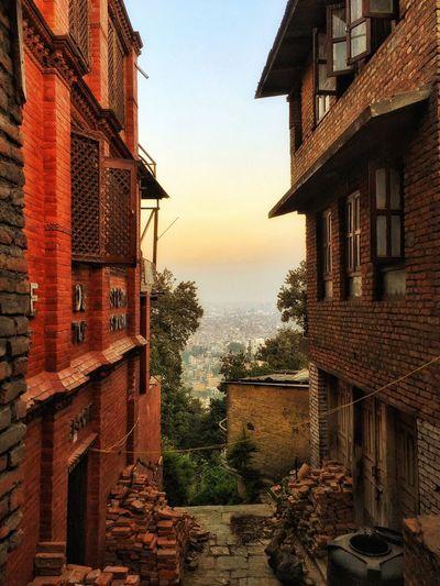 Walking Around Kathmandu, Nepal Evening Sky Nepal Pray For Nepal Still Slow Native Land EarthquakeNepal Earthquake In Nepal