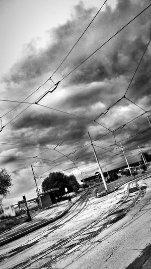 Black And White Dramatic Sky Streetphoto_bw Clauds And Sky
