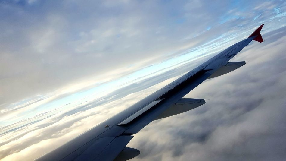 airplane turkish airlines approach to stuttgart