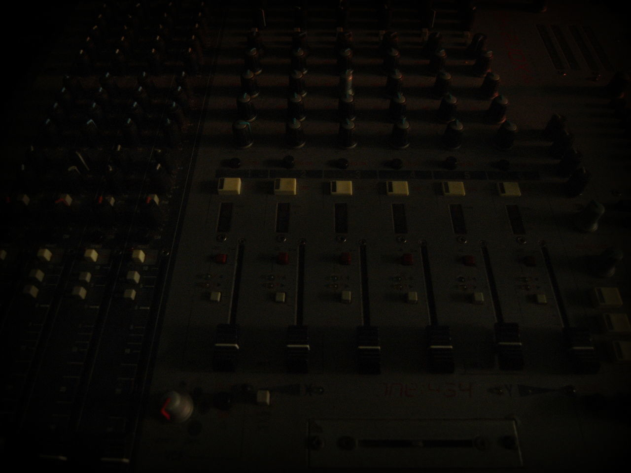 projects Dark Day In A Row Indoors  No People Sound Mixer