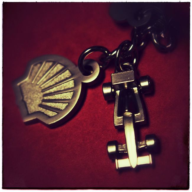 Shell key silver key chain. Photography Photo Of The Day Project366 Iphone6se Key Chain