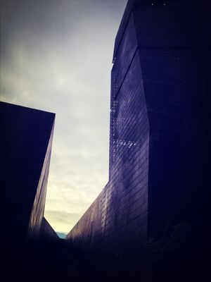 Hint of Blue Sky at De Young Museum by Anna Conti
