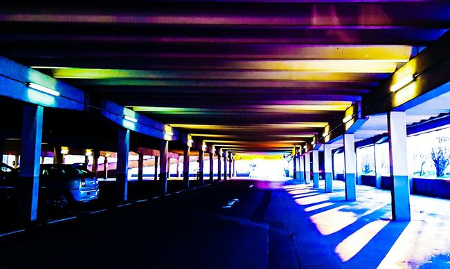 Colours Sunset Parking Garage On The Way Home On The Road Streetphotography OpenEdit Tadaa Community EyeEm From My Point Of View Shadowplay Shadow-art Shadows & Lights