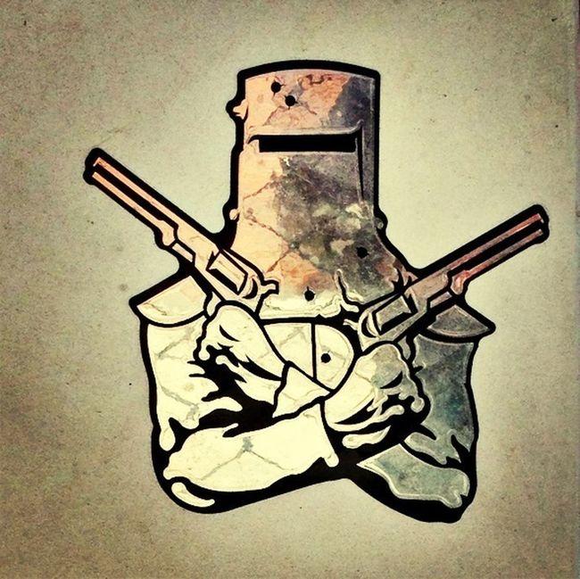 Streetart Stickerart Ned Kelly