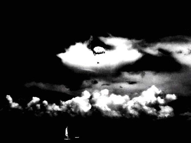 Blackandwhite Beach Sea Sand Sky Cloud See The World Through My Eyes Powerglide