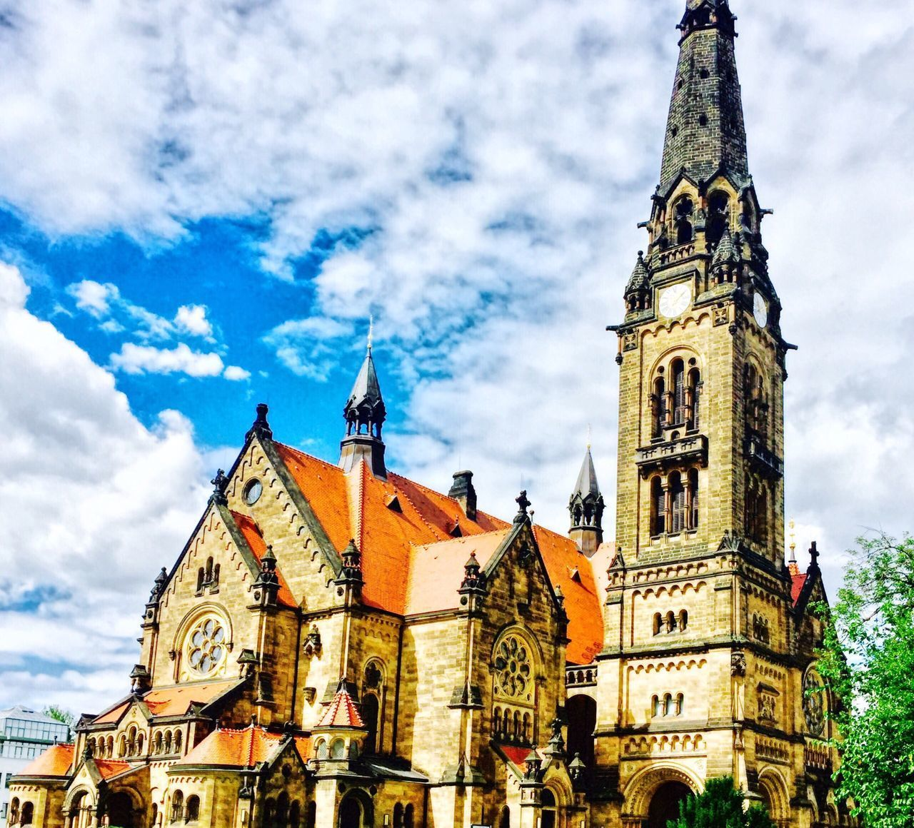 Religion Place Of Worship Architecture Spirituality Cloud - Sky Built Structure Building Exterior Sky Travel Destinations Low Angle View History Day Outdoors Clock Tower No People City Clock Dresden