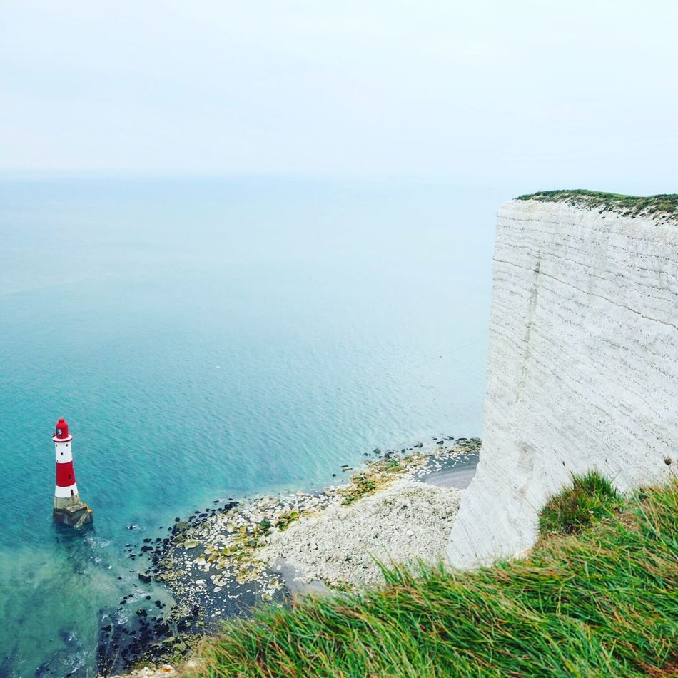 Exploring England with Api. The tallest Cliff in UK with Amazing View