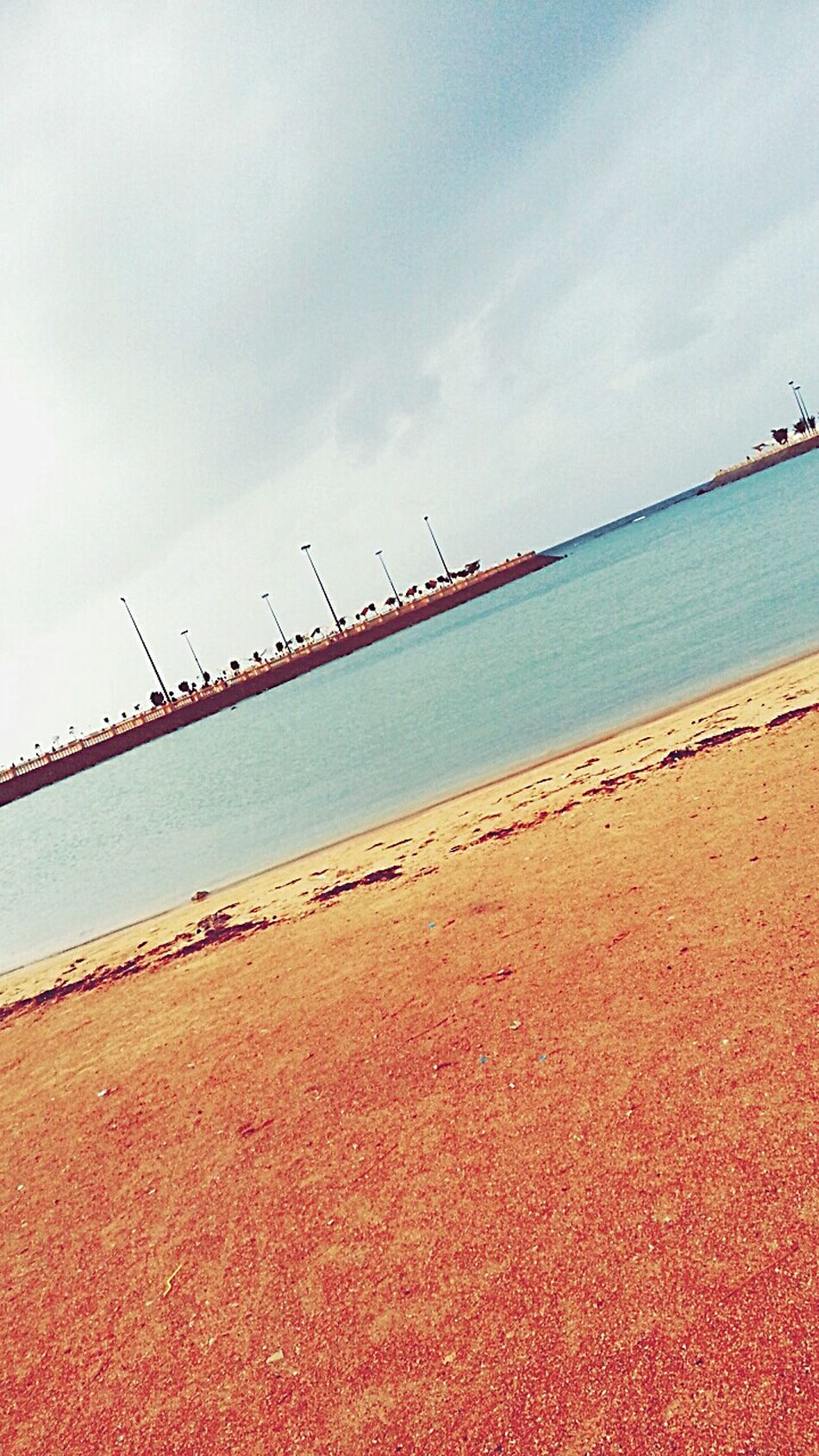 Sea And Sky بحر_جدة كلنا_مصورون صباح_الغيوم