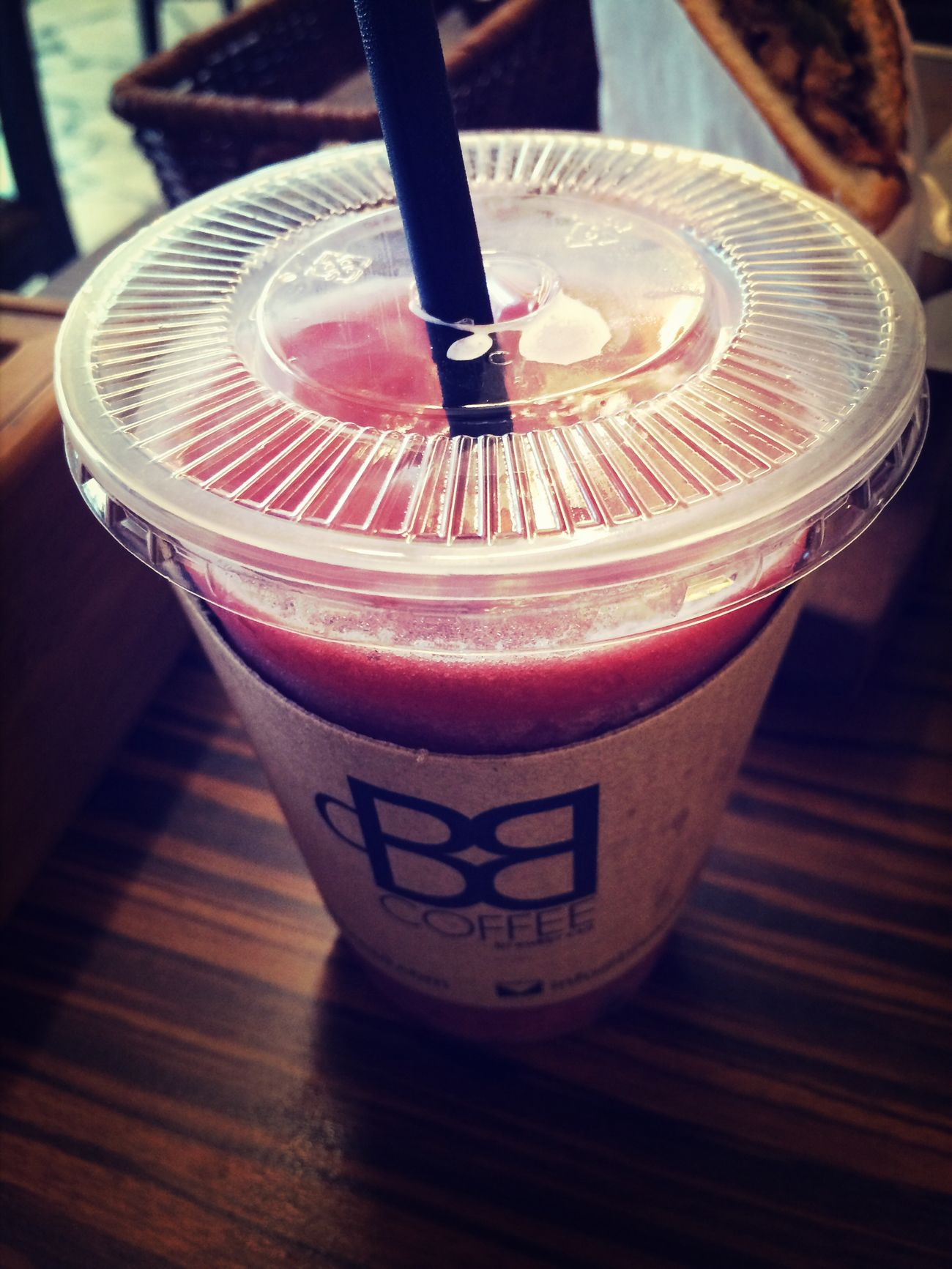 Raspberry Ice Blended Summer