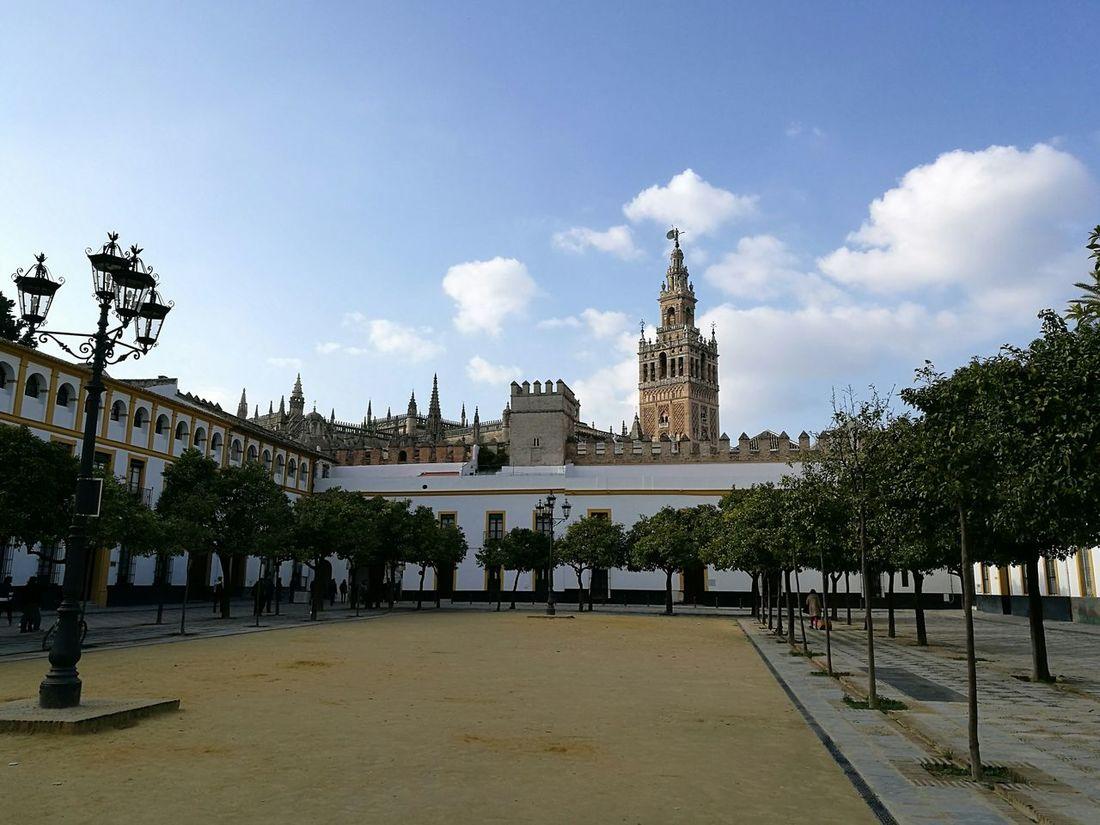 Sevilla Giralda Building Exterior