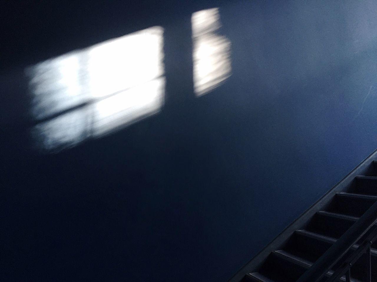 Winter light Blue Light And Shadow