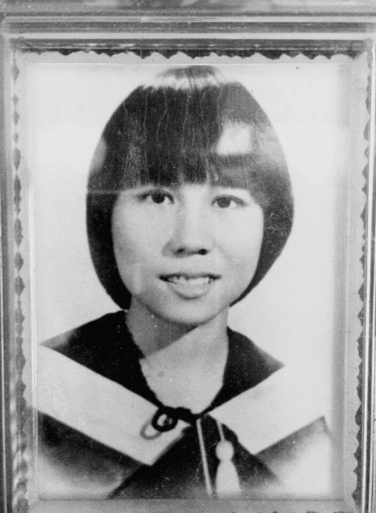 My mom Authentic B&W Portrait Vintage Photo