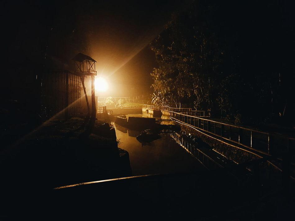 Nightphotography Light In The Darkness Outdoors Dark Illuminated Transportation Night Street Light Road City Outdoors Dark The Way Forward No People City Life