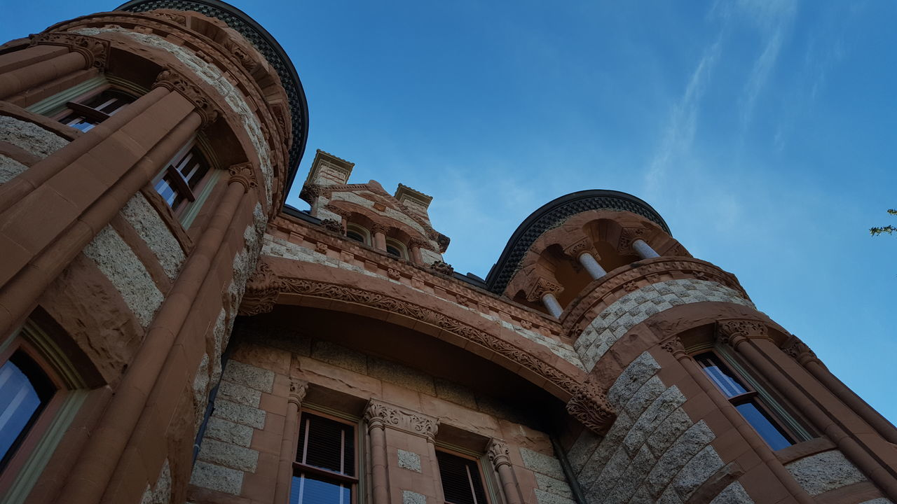 Granite Town Hall City Hall Texas Wes Anderson WAXAHACHIE EyeEm Selects Architecture Travel Destinations Arch History Built Structure Dome Sky Building Exterior No People Day Outdoors