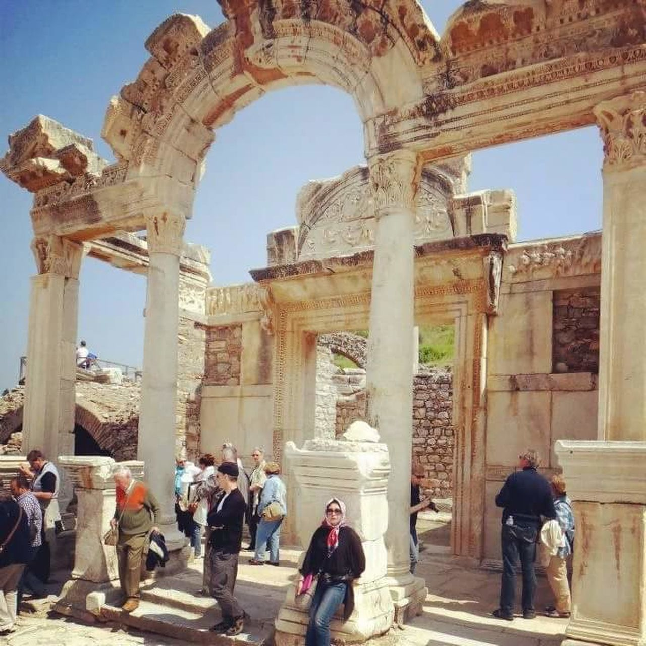 My Turkey Getaway - Eyeem Ephesus - Turkey Old City Building April 2013 Walking Tours Hello World That's Me Lizara ❤️ Travel Photography Historical Monuments