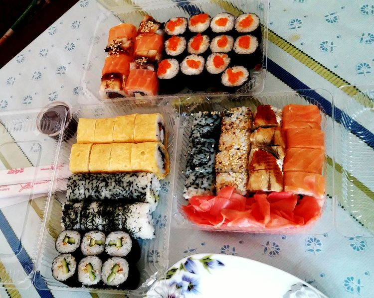 Sushi Роллы Delishes My Favorite  Food ❤❤❤😍💋😎