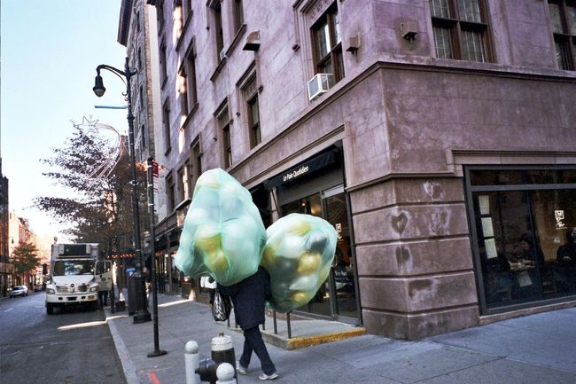Balloons Taking Photos NYC Photography I Shoot Film (null)