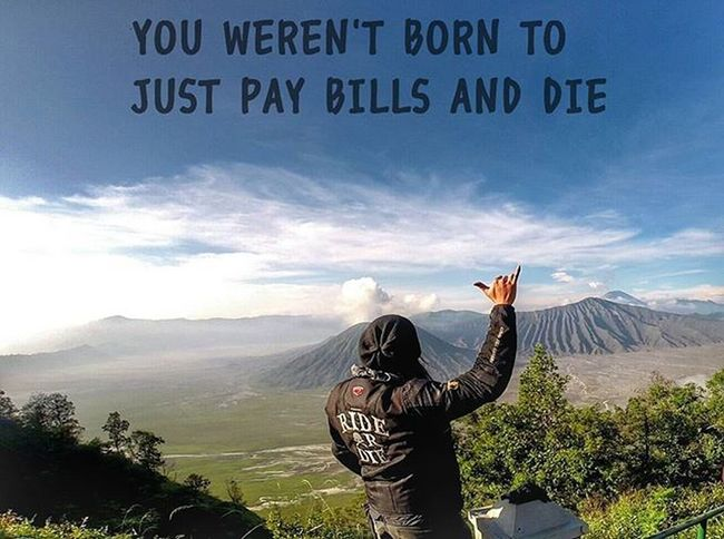 Quotes Enjoylife Enjoy Escape Bromo Mountain Volcano Contin Komine Gopro Gopro3plus Goproblackedition Goproeverything Goprooftheday Goprohero3 Gopro_moment Val  2016 RideOrDie