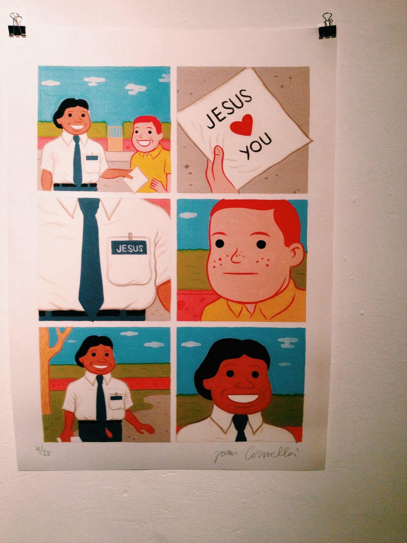 Jesus loves you from Joan Cornella
