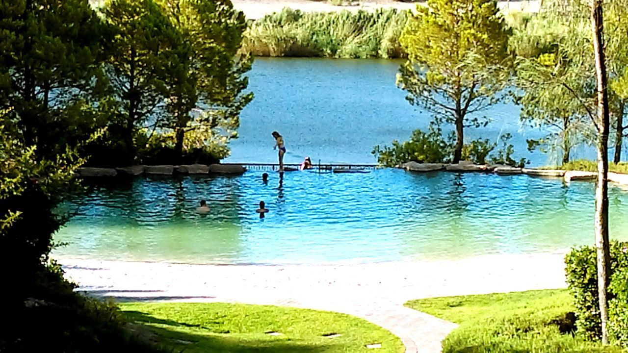 The pond at the hotel for swimming in. Hotel Hotel Sandy Beach Nature Nature_collection Beauty In Nature Naturelovers People And Places
