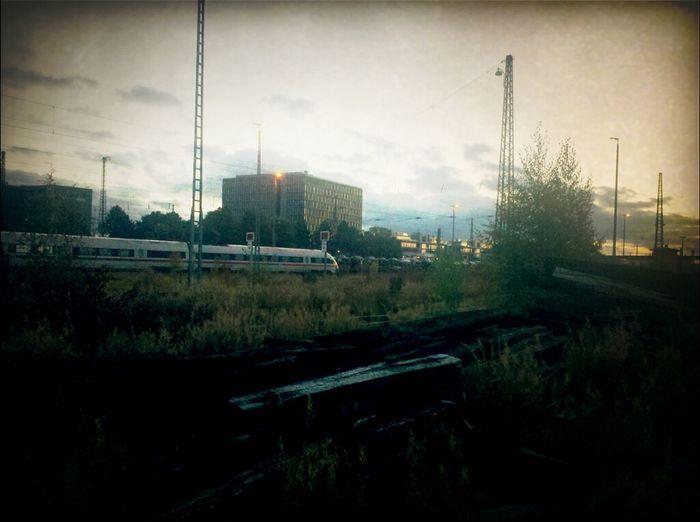 Taking Photos Deutsche Bahn