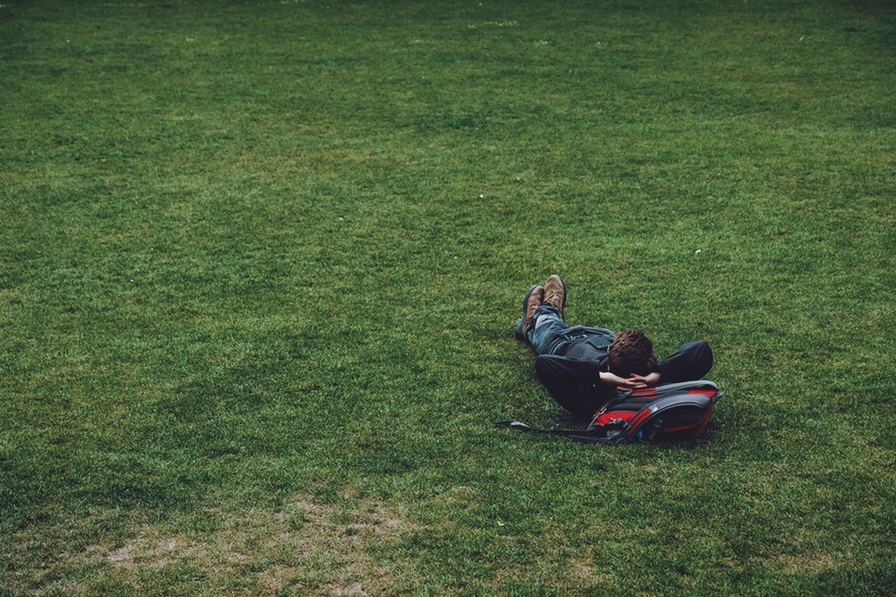Man Lying in Grass The Street Photographer - 2017 EyeEm Awards Man Lying In Grass Grass Park Field Green Color Relaxation Full Length One Person One Man Only Uk