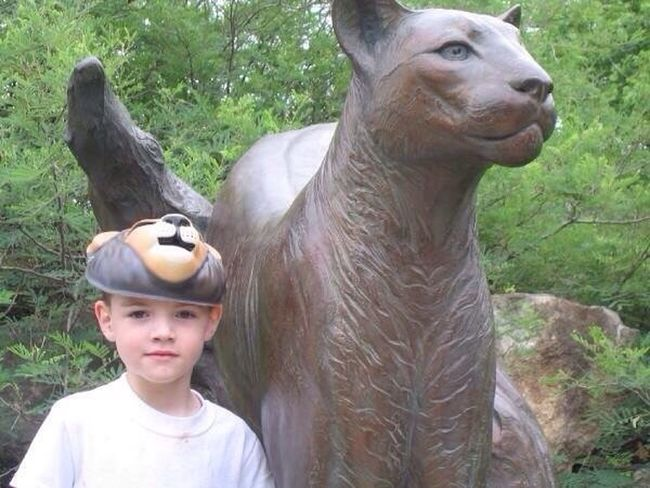 Sweet Boy Favorite Son 2006 San Antonio Zoo Statue My Only Son