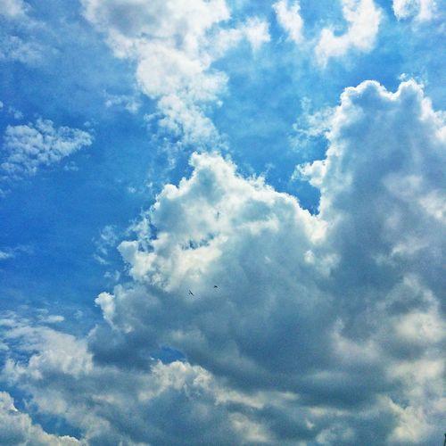 Clouds And Sky Sky Flight