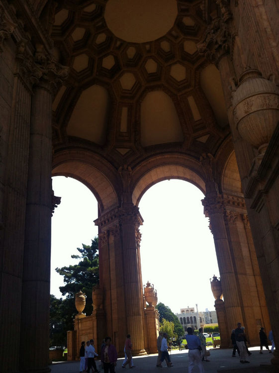 Taking Photos at Palace of Fine Arts by Mamahoong