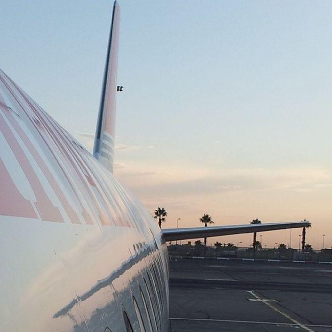 Sunset Sky Bluesky Airportmalta zonsondergang