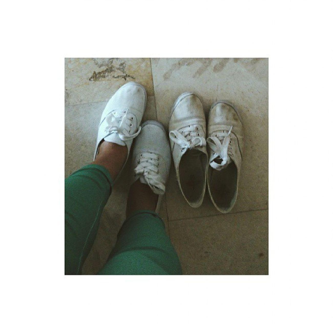 Benim Kirli Ihtiyar Ve Yakışıklı Genç Ayakkabılarım ✌👟👟