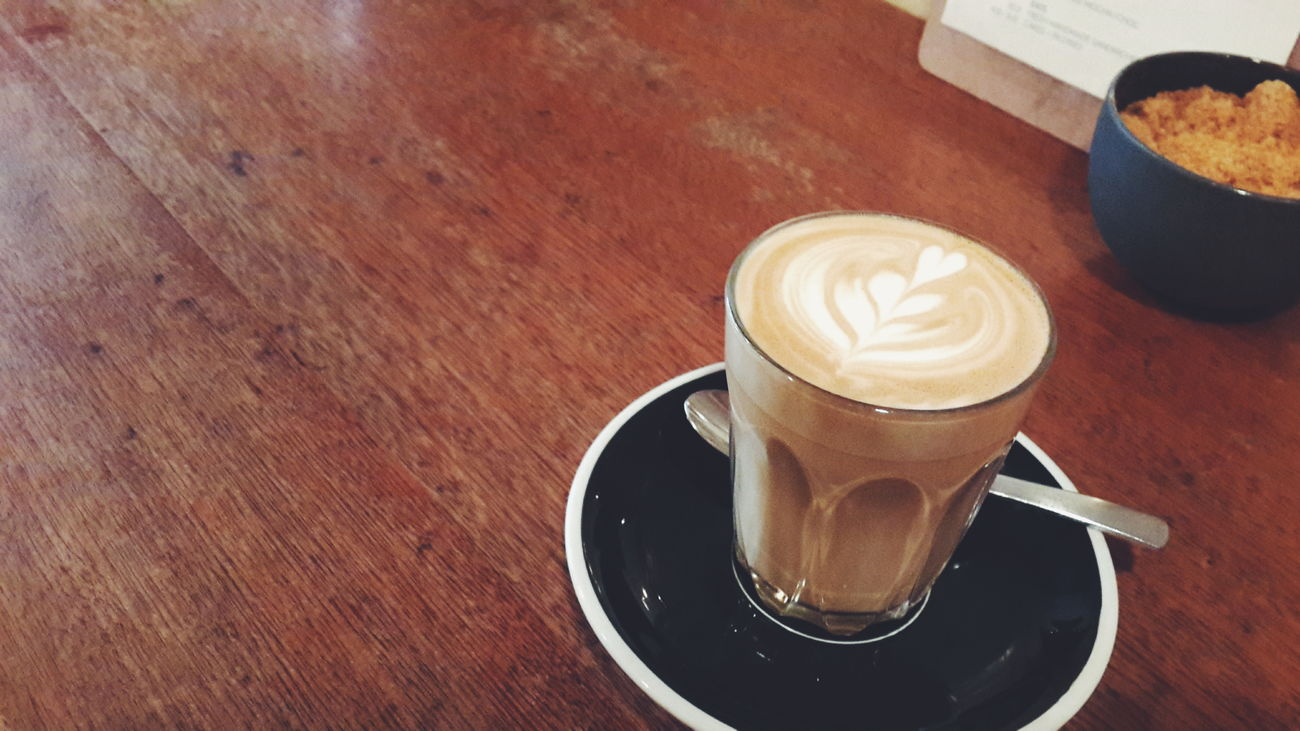 Deserve a cup of latte after submitted all my works.
