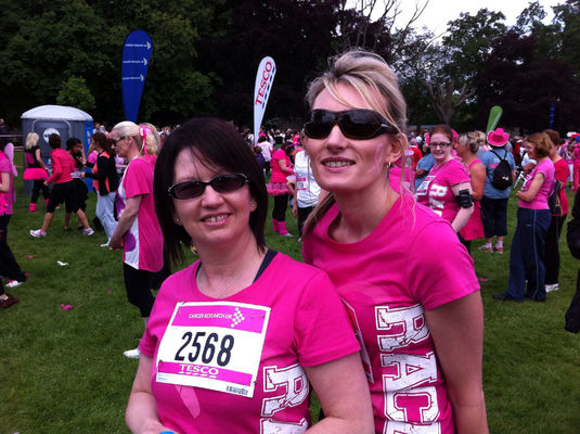 Race for Life at Abington Park by Ravi Chand