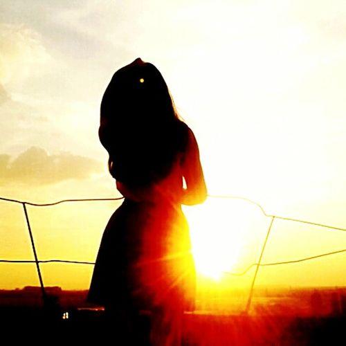 Beautiful Girl Sun Morning