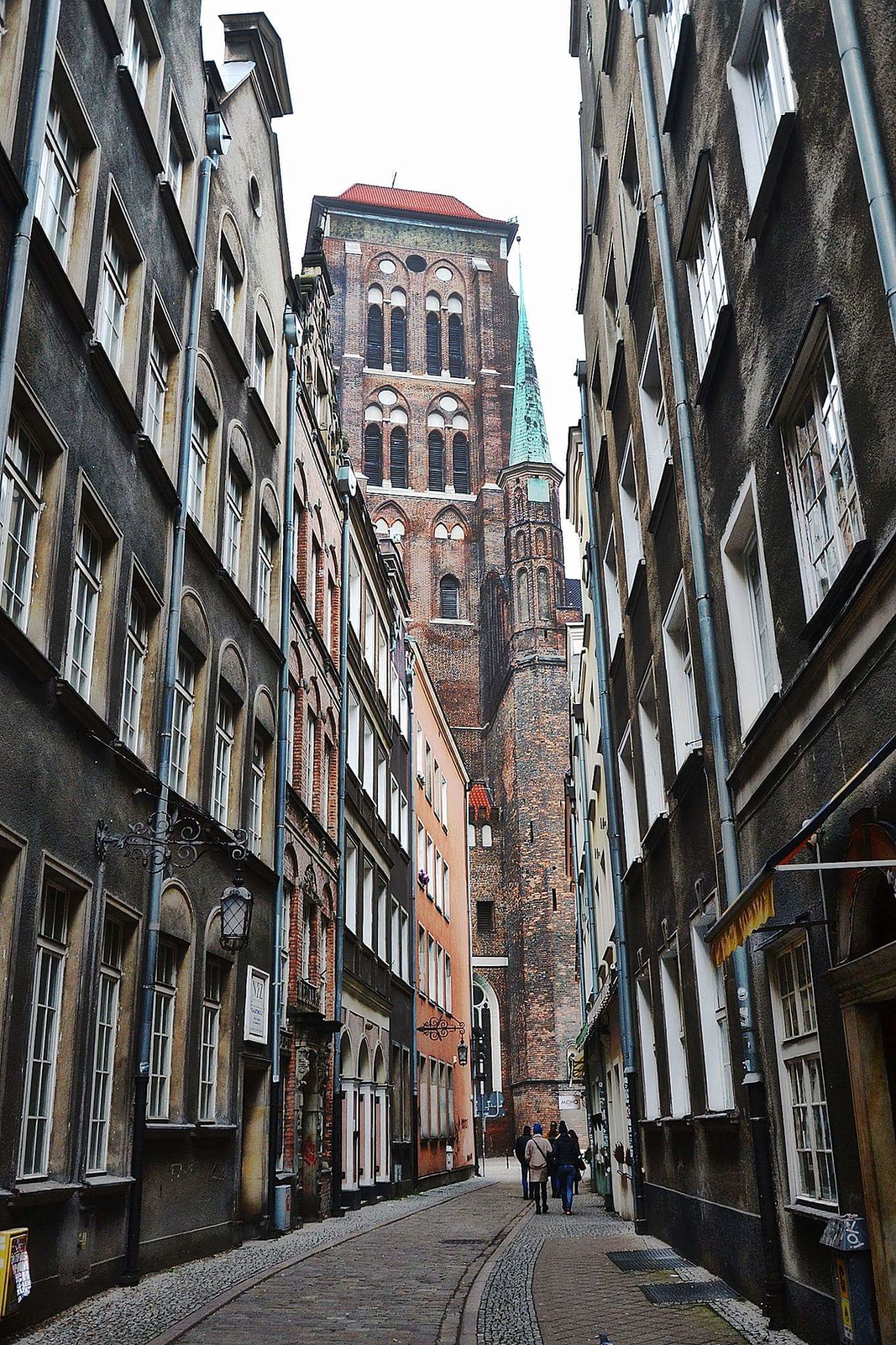 Architecture Building Exterior City Street Built Structure Outdoors Travel Destinations No People Skyscraper Sky Cityscape Day Travel Cityscape Gdańskeye Gdansk (Danzig) Silhouette Gdańsk. Gdansk,poland Gdansk_official Architecture City