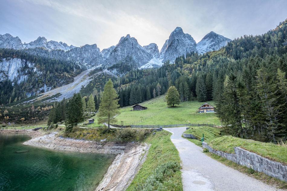 Gosausee, Österreich Alps Austria Bergsee Dachstein Day Gosausee Mountain Mountain Range No People Outdoors Salzkammergut Travel Destination Travel Destinations Österreich