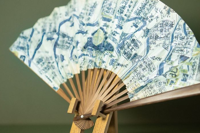 Indoors  No People Close-up Fanned Out Day Japan Cultrue Fan Wood Gift Japanese Culture