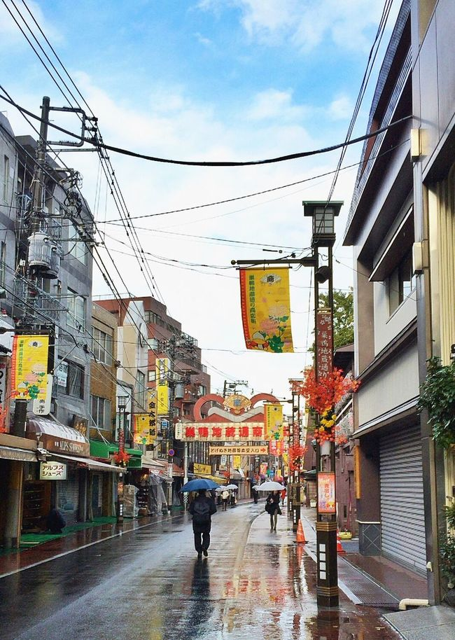 Tokyo,Japan At 巣鴨駅 (Sugamo Sta.) Streamzoo Streamzoofamily Streetphotography 朝から巣鴨に直行🚶🏻💨😊雨が止んできました🚶🏻👍🏻🎵