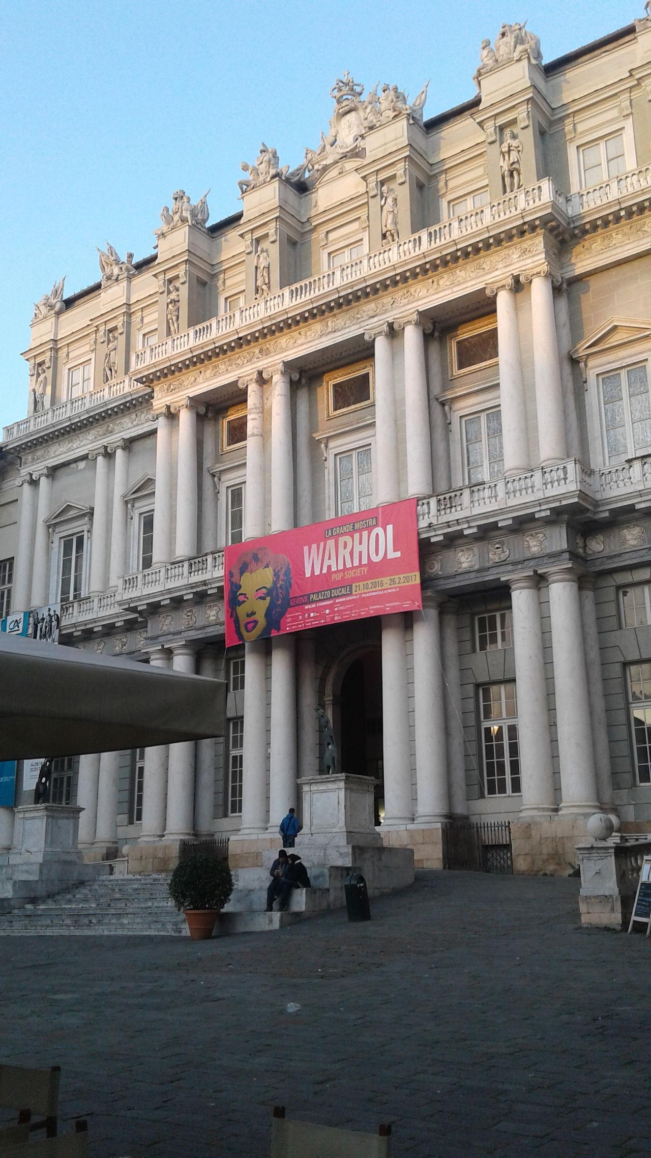 Warhol Inspired Building Exterior Genova